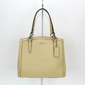 Coach Crossgrain Leather Minetta Handbag Crossbody